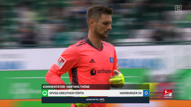 2. Bundesliga: Greuther Fürth - Hamburger SV | DAZN Highlights