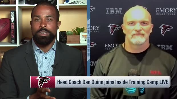 Dan Quinn will carry over 'customized learning' online to future offseasons