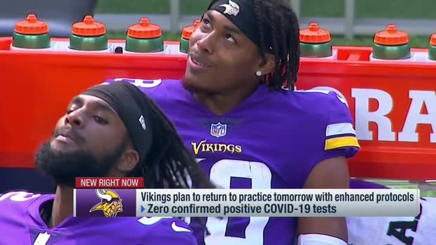Garafolo: Vikings plan to return to practice Thursday