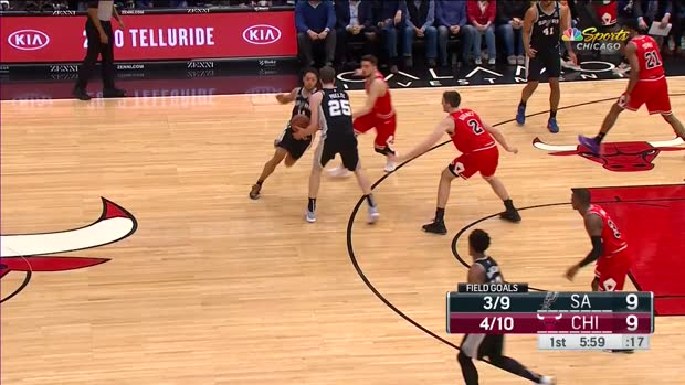 WSC: Jakob Poeltl 16 points vs the Bulls