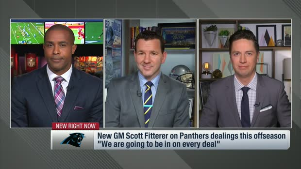 Pelissero: Expect new Panthers GM Scott Fitterer to be 'aggressive' this offseason