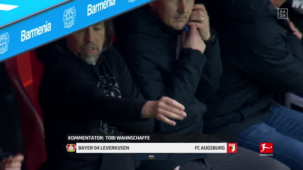 Bundesliga: Bayer 04 Leverkusen - FC Augsburg | DAZN Highlights