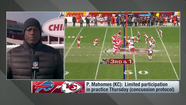 Chadiha: 'Everything's pointing in the right direction' for Mahomes' availability