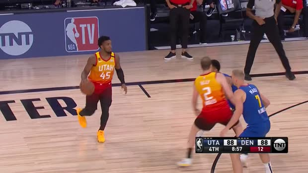 WSC: Donovan Mitchell 35 points vs the Nuggets