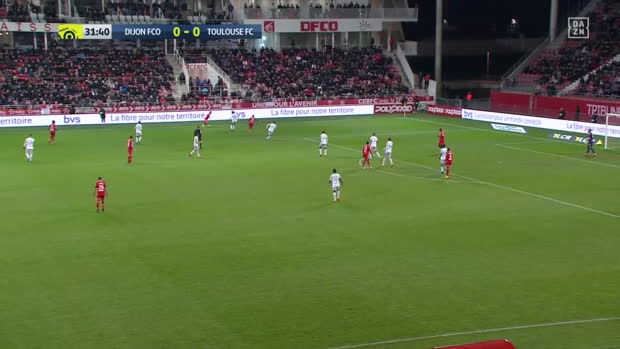 Ligue 1: Dijon - Toulouse | DAZN Highlights