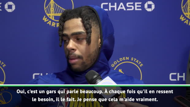 "Basket : NBA - Russell - ""Green me parle et m'aide beaucoup"""
