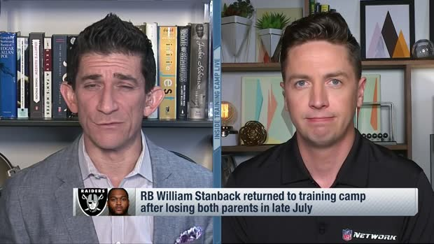Pelissero: RB William Stanback returns to Raiders camp after losing both parents