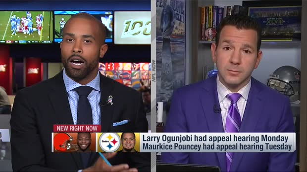NFL Network Insider Ian Rapoport: Pittsburgh Steelers quarterback Mason Rudolph can expect 'rather hefty' fine for role in Cleveland Browns defensive end Myles Garrett incident