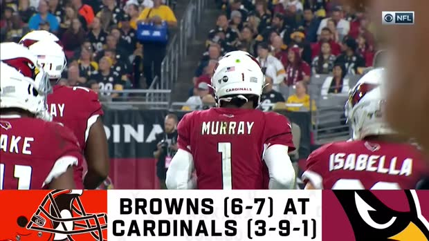 Browns vs. Cardinals preview | Week 15