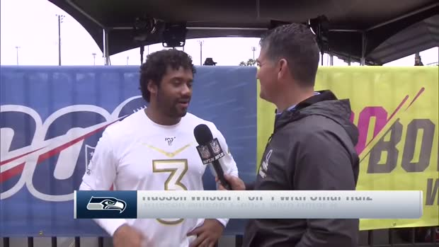 Seattle Seahawks quarterback Russell Wilson says being named Pro Bowl starter 'truly a blessing'