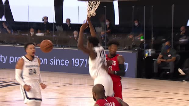Dunk of the Night: Jaren Jackson Jr.