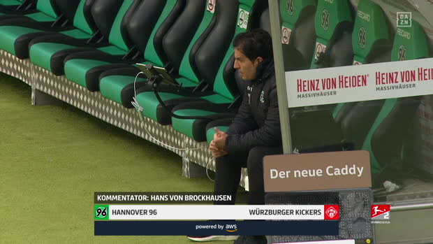 2. Bundesliga: Hannover 96 - FC Würzburger Kickers | DAZN Highlights