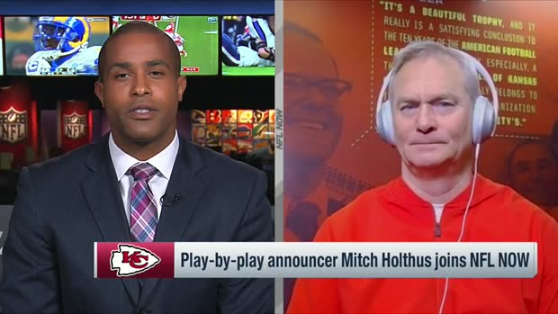 Chiefs play-by-play announcer Mitch Holthus previews AFC Championship Game