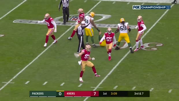 Every big defensive play by Niners defense | NFC Championship Game