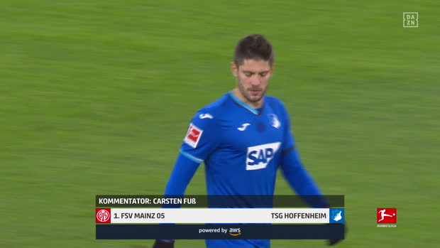Bundesliga: 1. FSV Mainz 05 - TSG Hoffenheim | DAZN Highlights