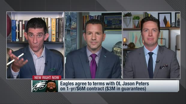 Rapoport: Jason Peters, Eagles agree to terms on one-year deal