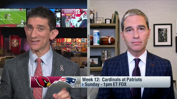 Giardi previews top storylines for Cardinals-Patriots in Week 12
