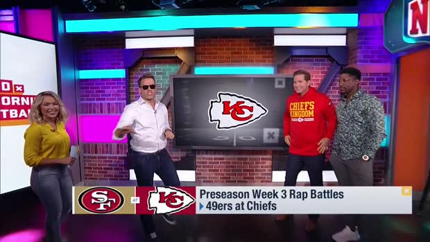 'Good Morning Football' flashback: Kyle Brandt predicts San Francisco 49ers' Super Bowl path in August 2019 rap battle