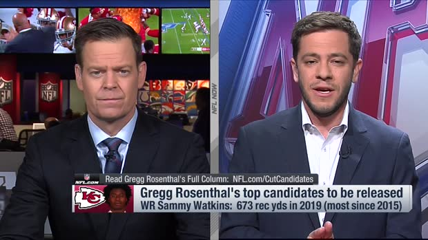 NFL Network's Gregg Rosenthal: Kansas City Chiefs 'almost certain' to cut wide receiver Sammy Watkins this offseason