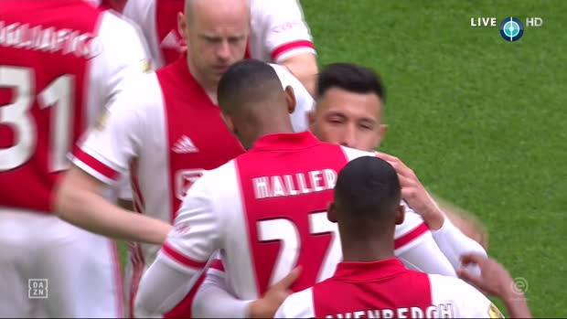 Eredivise: Ajax - Emmen | DAZN Highlights
