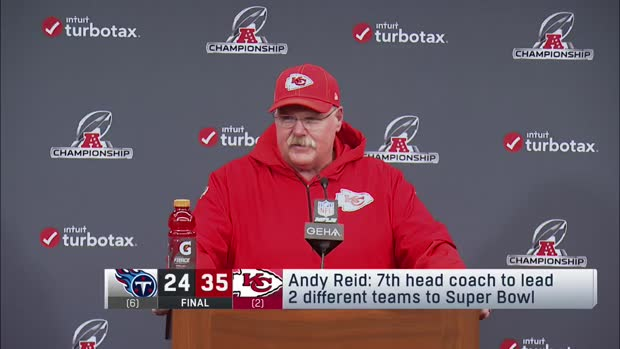 Kansas City Chiefs head coach Andy Reid: 'I need to get on a diet so I can fit in my clothes' for Super Bowl LIV