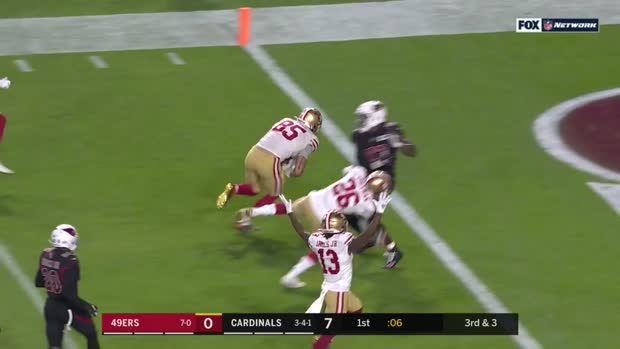 Can T Miss Play George Kittle Puts Nasty Stiff Arm On