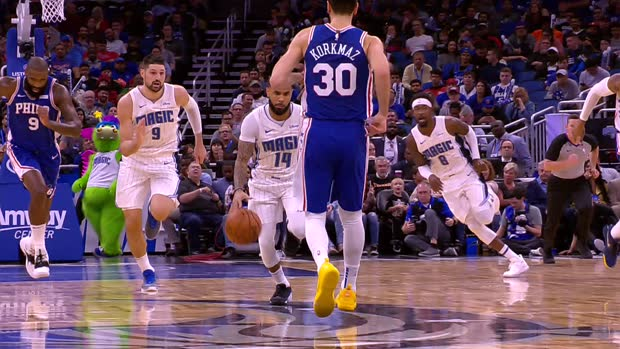 Assist of the Night: D.J. Augustin