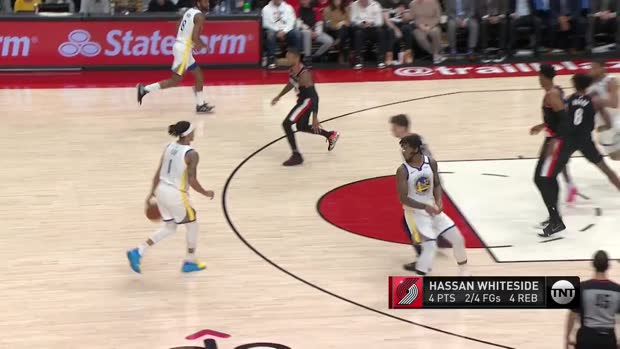 WSC: Hassan Whiteside Blocks vs Warriors