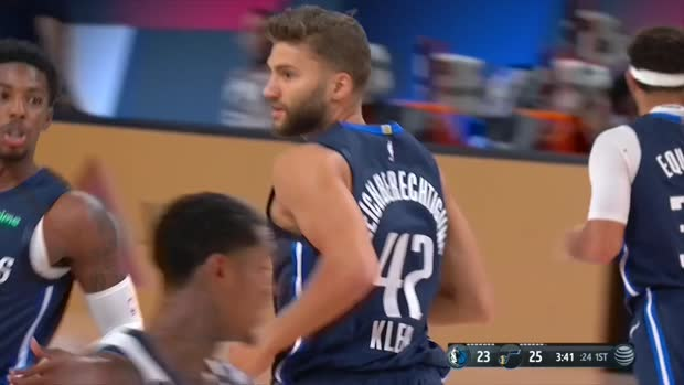 WSC: Maxi Kleber (11 points) Highlights vs. Utah Jazz