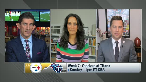 Kinkhawbala, Palmer: Top storylines leading up to Steelers-Titans in Week 7