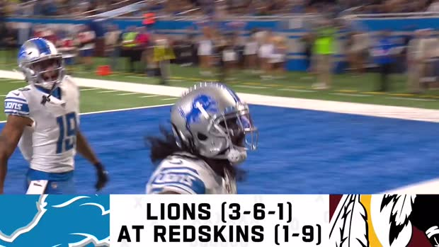 Lions vs. Redskins preview | Week 12