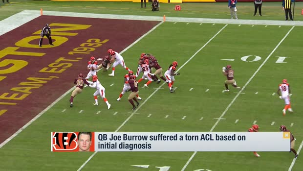 Rapoport: Joe Burrow suffered torn ACL based on initial diagnosis