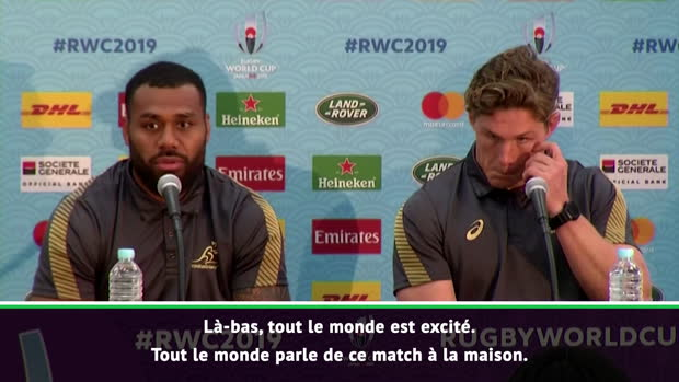 """Rugby : Groupe D - Kerevi - """"Ma famille va supporter... les Fidji"""""""
