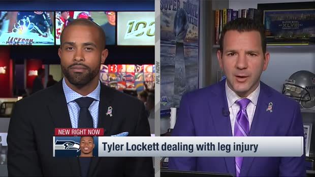 NFL Network Insider Ian Rapoport: Seattle Seahawks wide receiver Tyler Lockett has a 'really good shot to play' vs. the Philadelphia Eagles
