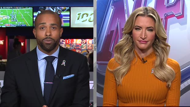 NFL Network's Cynthia Frelund: How defensive end Myles Garrett's absence changes Cleveland Browns' playoff probability
