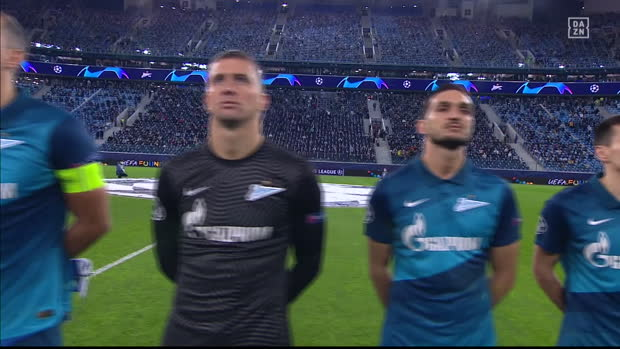 UEFA Champions League: Zenit St. Petersburg - Lazio Rom | DAZN Highlights