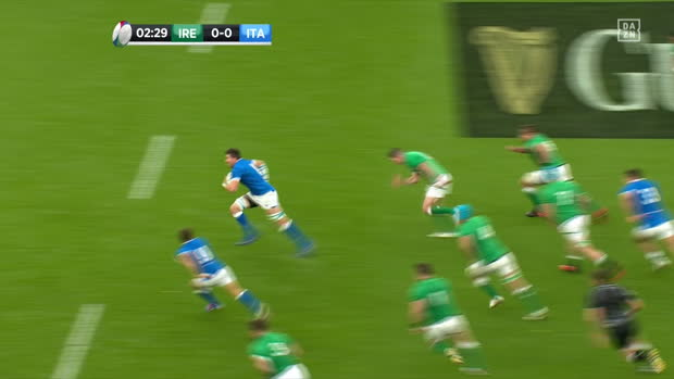 Six Nations: Irland - Italien | DAZN Highlights