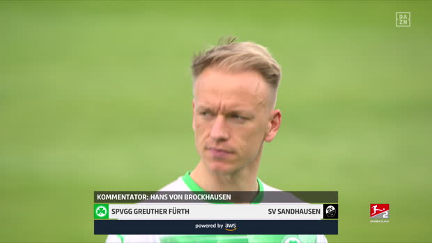 2. Bundesliga: SpVgg Greuther Fürth - SV Sandhausen | DAZN Highlights