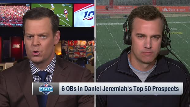 NFL Network's Daniel Jeremiah puts six quarterbacks in Top 50 prospects