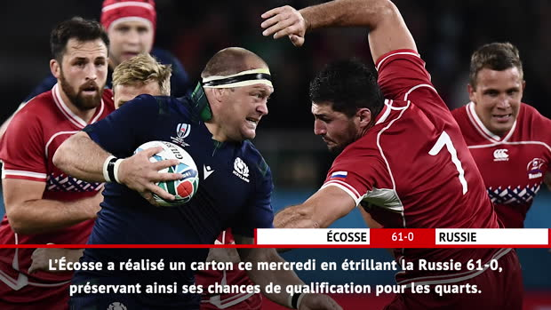 Fast Match Report : Fast Match Report - Écosse 61-0 Russie