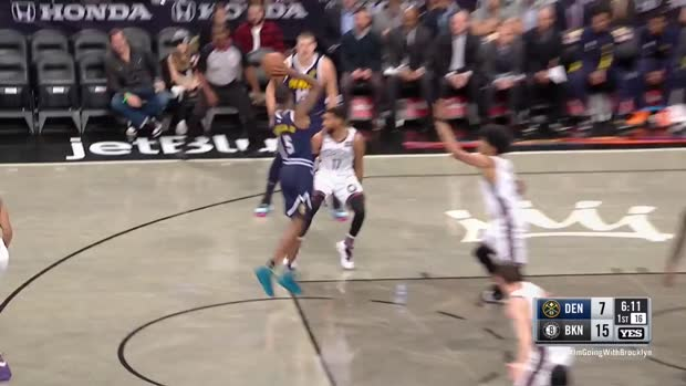 WSC: Nikola Jokic (24 points) Highlights vs. Brooklyn Nets