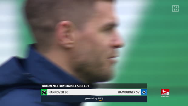 2. Bundesilga: Hannover 96 - Hamburger SV | DAZN Highlights