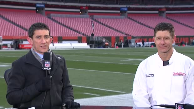 Cleveland Browns executive chef Steve Aheimer shares his version of Thanksgiving