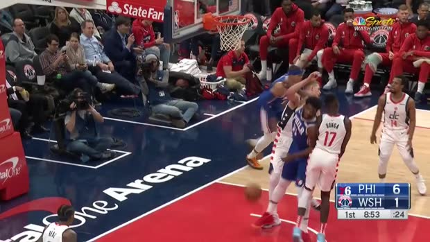 WSC: Tobias Harris scores 33 points vs. Wizards