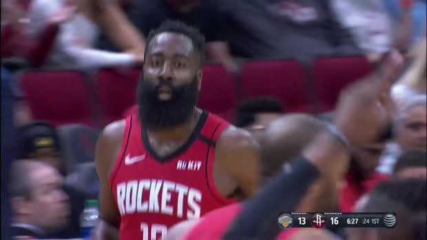 WSC: James Harden with 37 Points vs. New York Knicks