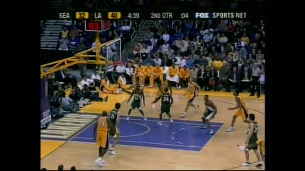 Kobe Bryant's 12 Three-Pointers in a Single Game | NBA Archiv