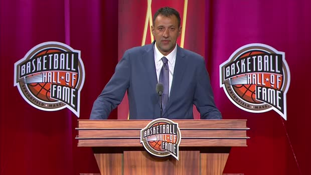 Vlade Divac Hall of Fame Enshrinement Speech