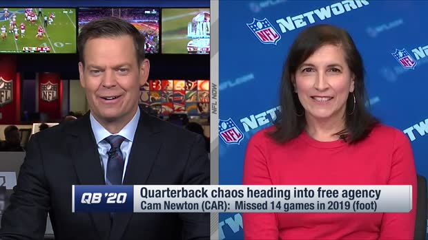 NFL Network's Judy Battista: Door 'wide open' for Carolina Panthers to trade quarterback Cam Newton