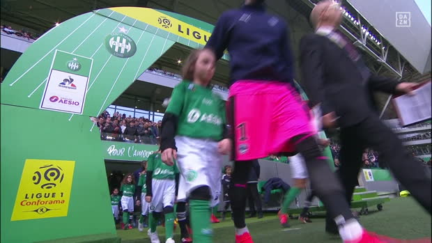 Ligue 1: St. Etienne - Bordeaux | DAZN Highlights