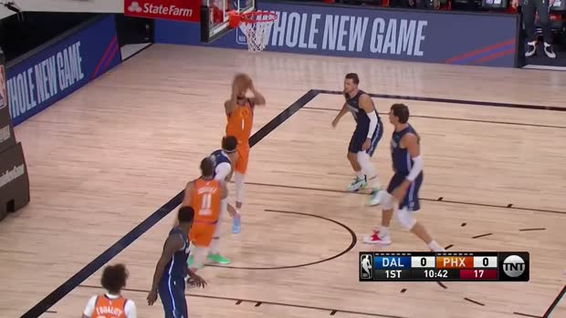 WSC: Ricky Rubio with 12 Assists vs. Dallas Mavericks